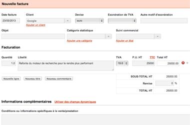 MaTPE: Gestion automatique de la TVA, Catalogue tarifaire, Gestion de contacts