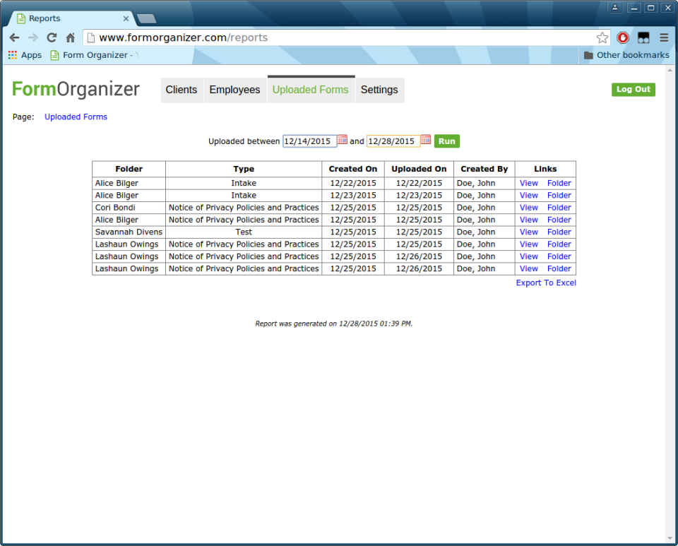 Form Organizer-screenshot-1