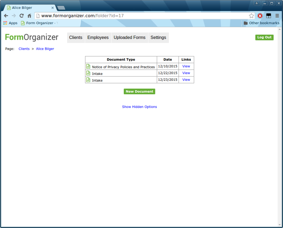 Form Organizer-screenshot-2