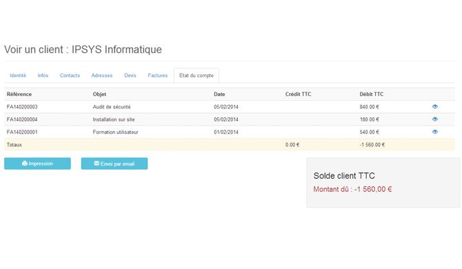 FactureNet: Contrôle strict des accès aux serveurs, Utilisateurs maximum, Fiche produit