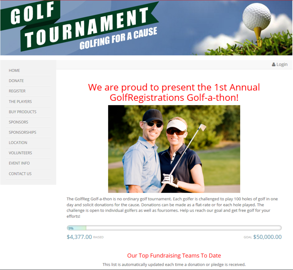 GolfRegistrations-screenshot-0
