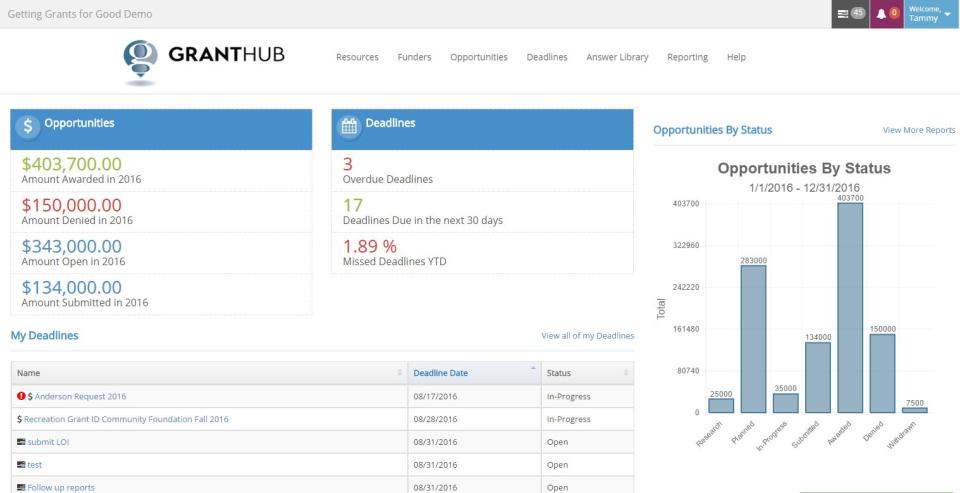 GrantHub-screenshot-1