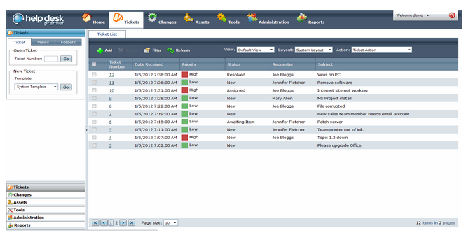 Help Desk Premier-screenshot-0