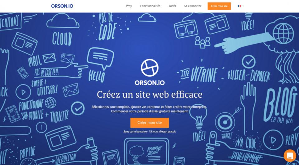 Orson site web : Avis, Prix ⇒ Création de Site Internet Pro optimisé SEO
