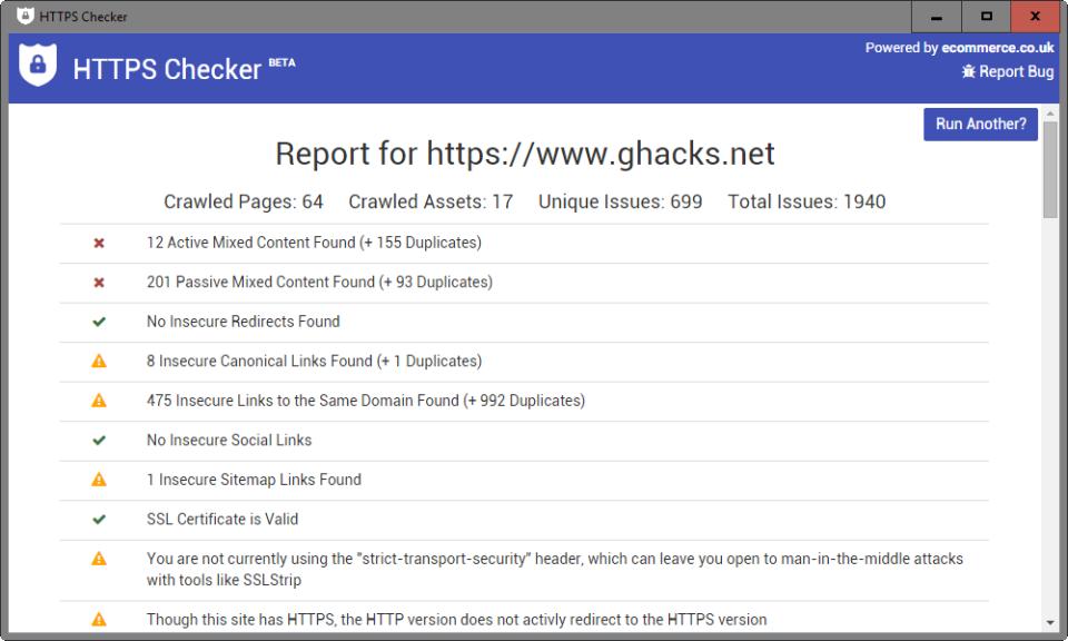 HTTPS Checker-screenshot-0
