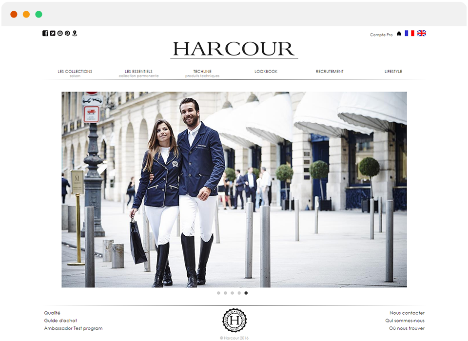 « 1 mois après la mise en ligne du site nous avons enregistré plus de 30 000€ de chiffre d'affaires » - William BEnguigui - Fondateur Harcour