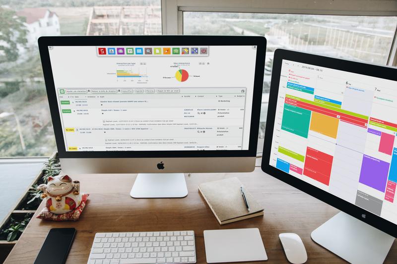 Simple CRM : Logiciel en ligne, outil simple pour PME ⇒ Avis, test gratuit