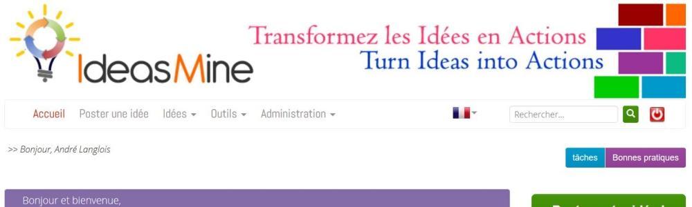 Avis IdeasMine : Centraliser et animer les idées de vos collaborateurs - Appvizer