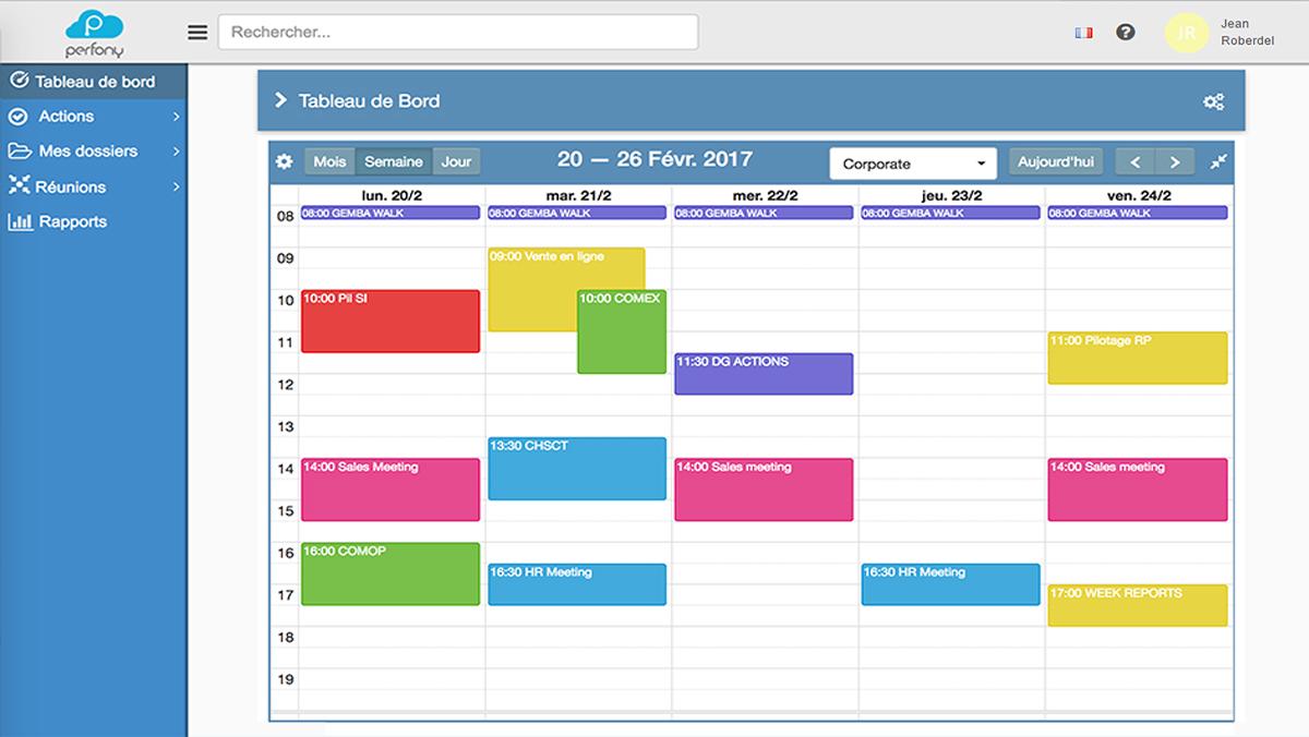 Synchronisez votre agenda et Perfony et mettez un terme à la réunionnite !
