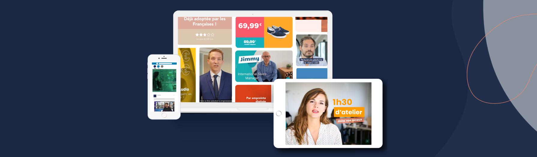 Avis Pitchy : La création vidéo enfin à la portée des entreprises - Appvizer