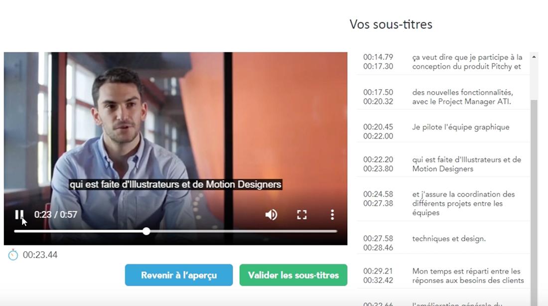 Ajoutez des sous-titre automatiques à votre vidéo