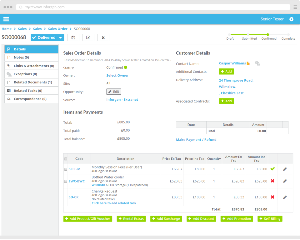 Inforgen for Retail Management-screenshot-0