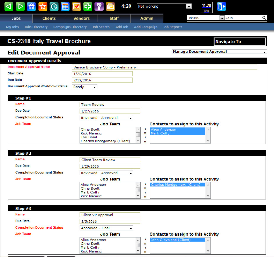 Infowit Creative Manager-screenshot-1