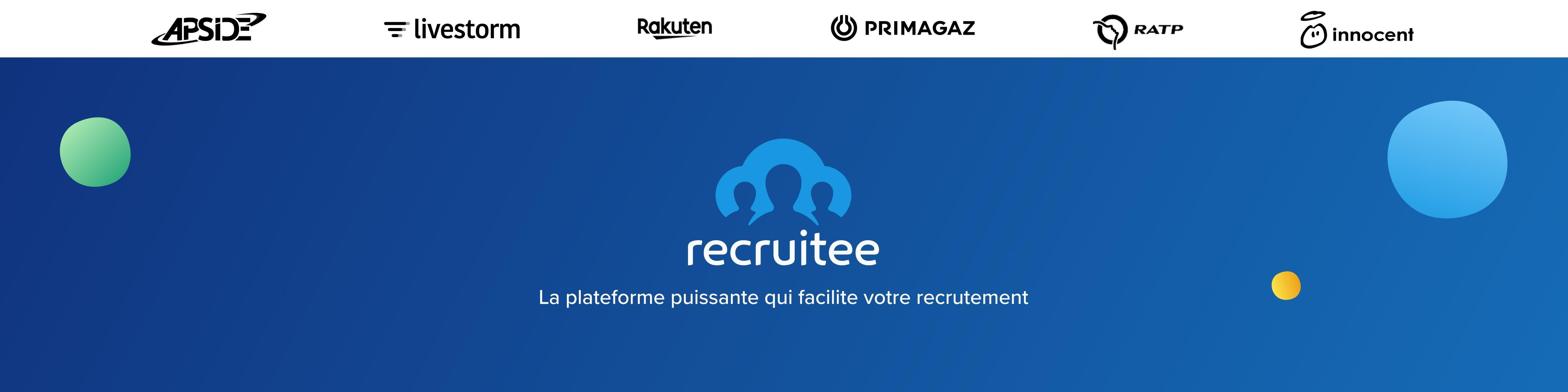 Avis Recruitee : Plateforme de recrutement rapide, facile et collaborative - appvizer