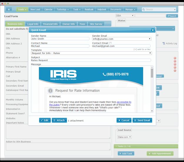 IRIS CRM-screenshot-1