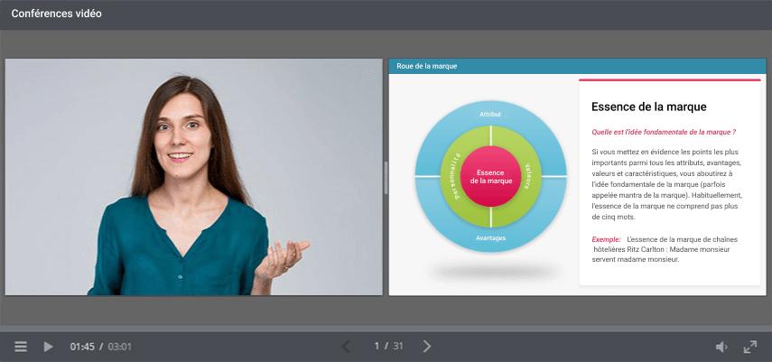Créez des conférences vidéo