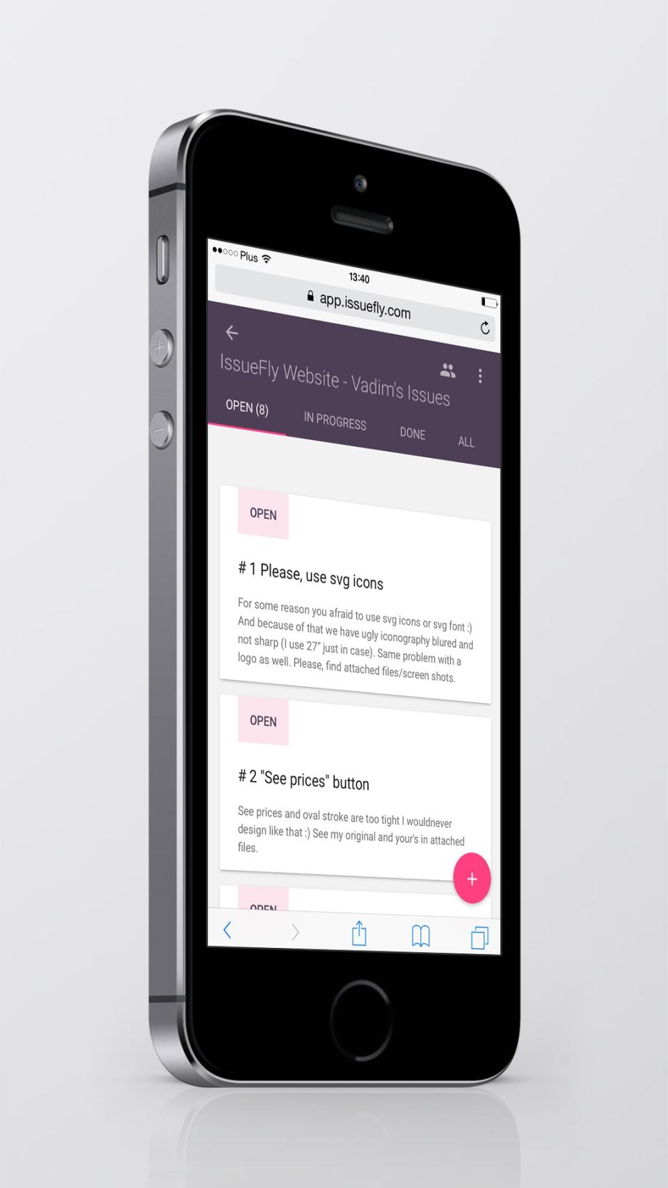 IssueFly-screenshot-1