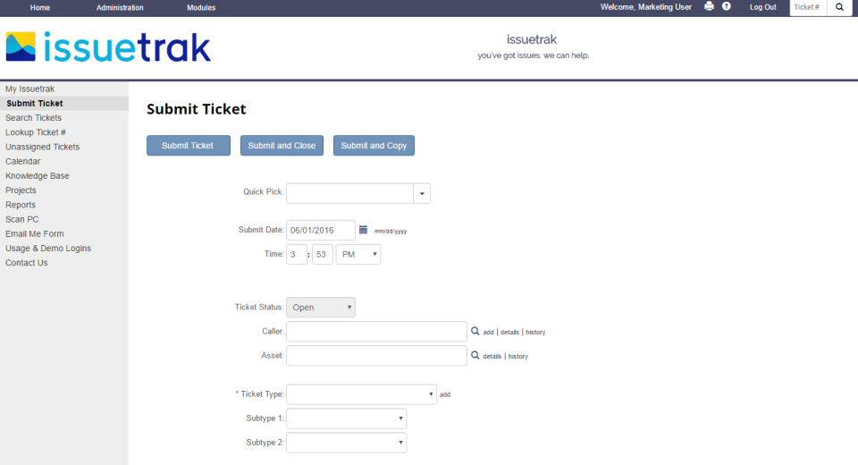 Issuetrak-screenshot-0