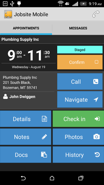 Jobsite Mobile-screenshot-1