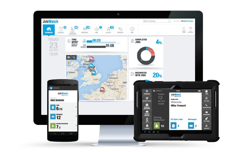 Gestion de la relation client, application mobile, gestion d'interventions, géolocalisation
