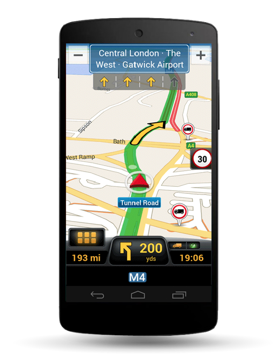 Navigation GPS Navigation PL Gabarits PL Info-trafic