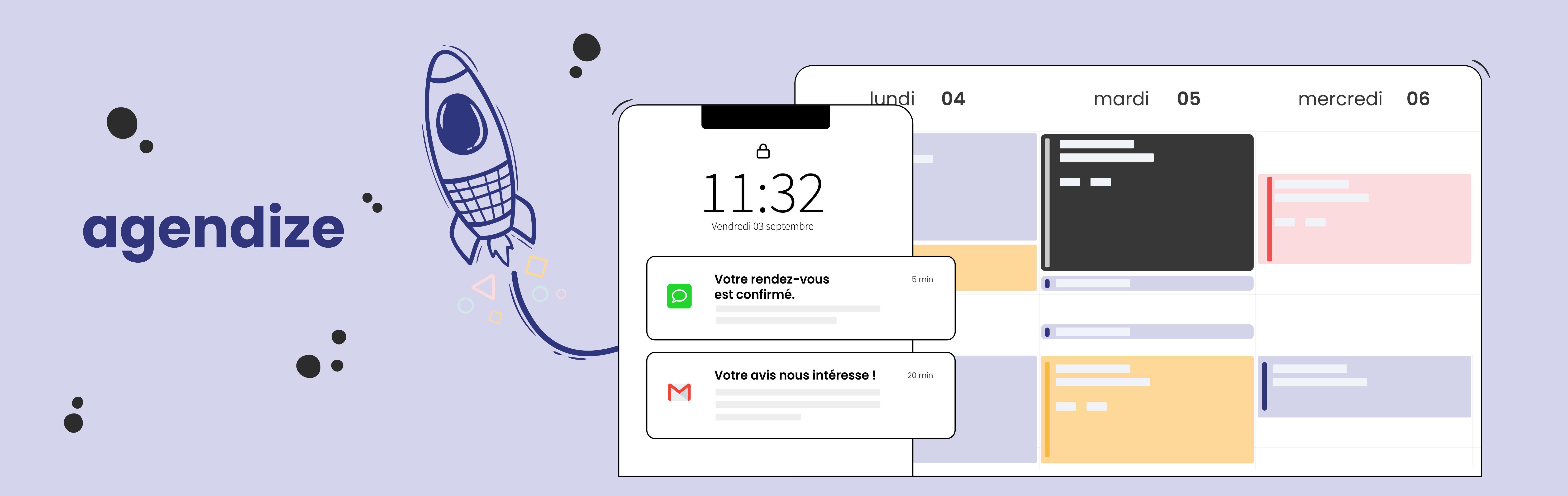 Avis Agendize : Agenda et prise de rendez-vous en ligne pour grands comptes - appvizer