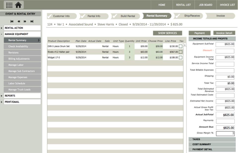 KiRentals for Equipment Rental-screenshot-4