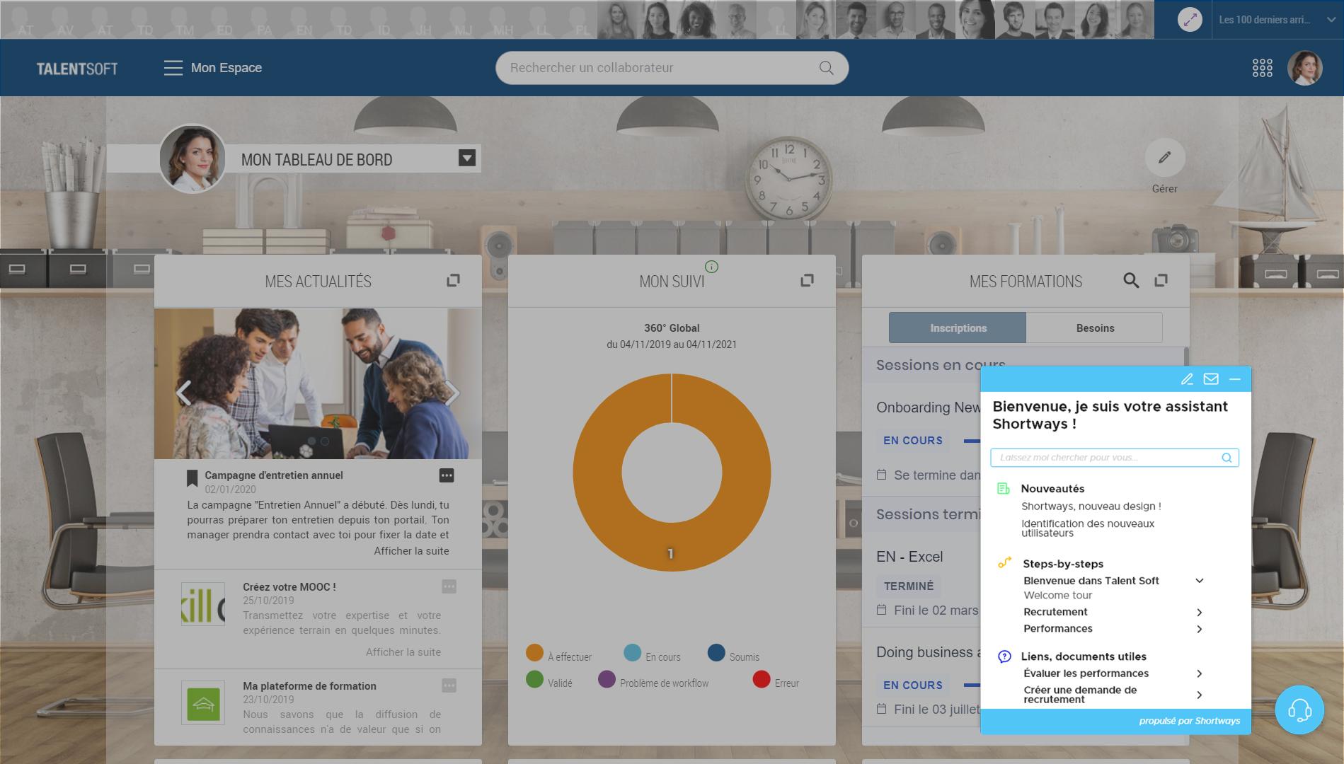Avis Shortways : Assistant digital pour l'adoption logiciel (SIRH, ERP, CRM) - appvizer