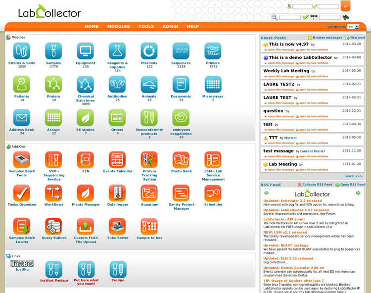 LabCollector-screenshot-0