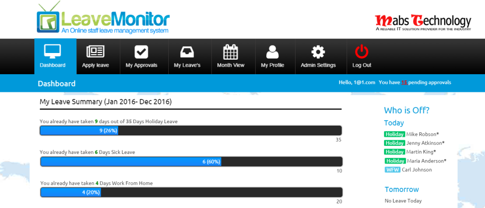 LeaveMonitor-screenshot-0