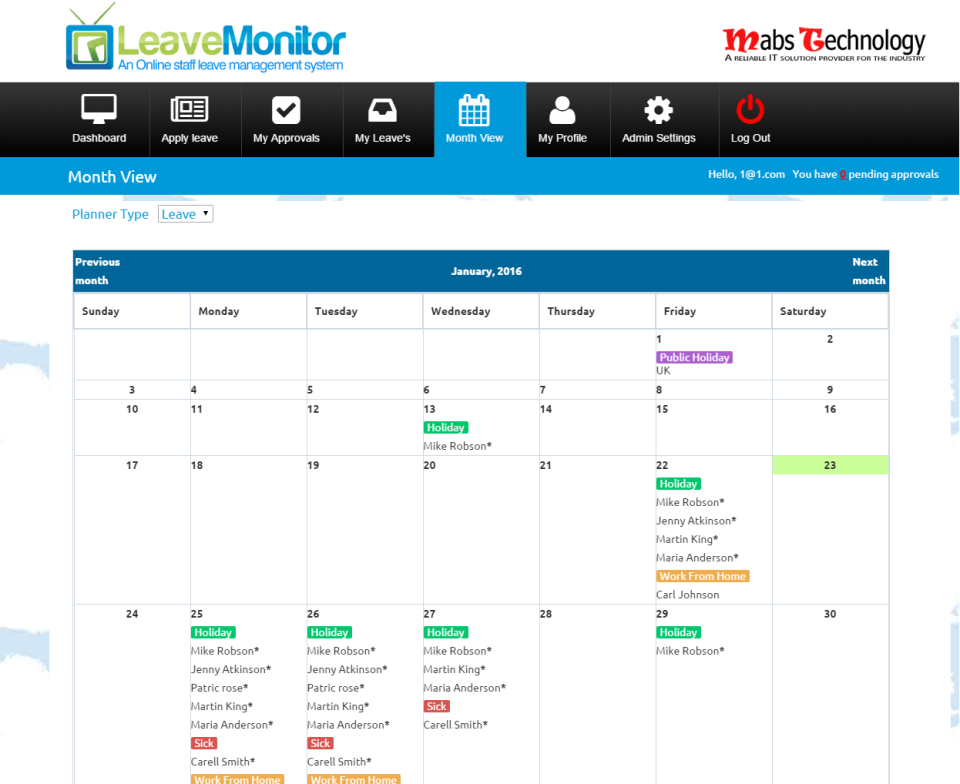 LeaveMonitor-screenshot-1
