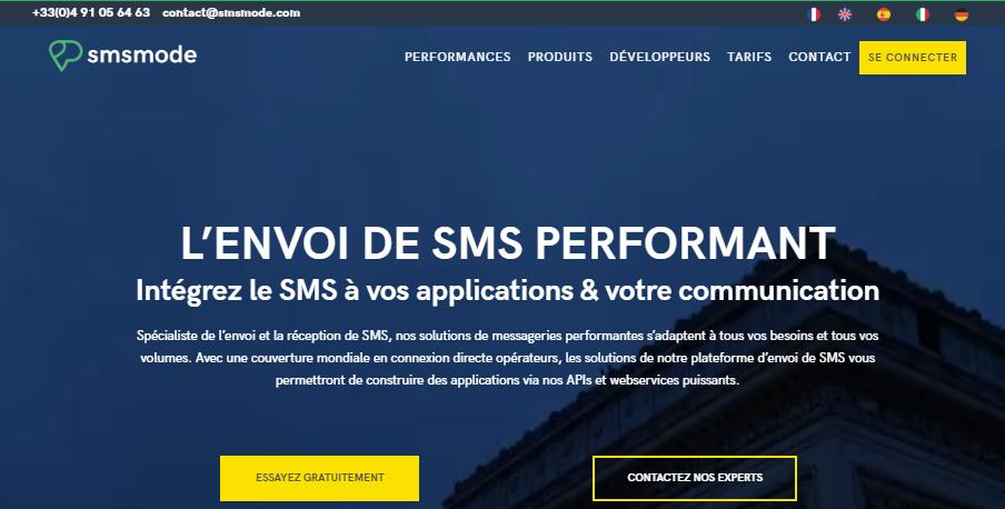 Site multi-langues