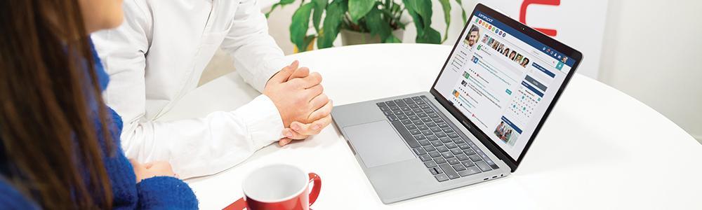 jamespot intranet social : réseau social entreprise, communication interne, veille collaborative