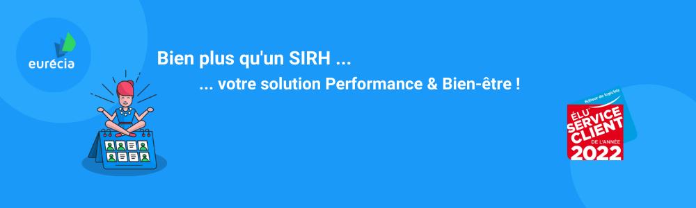 SIRH Eurécia - logiciel Saas de ressources humaines et gestion administrative