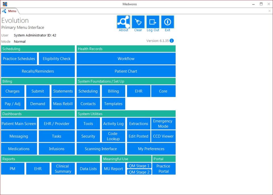 MedWorxs Evolution-screenshot-0