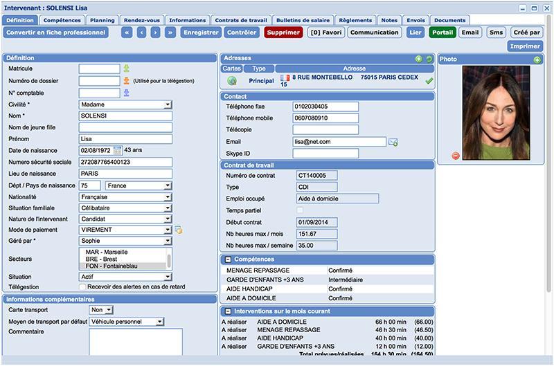 OGUST manager: Dématérialisation des factures, Gestion de comptes, Aide à domicile