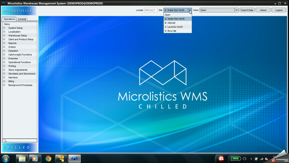 Microlistics WMS-screenshot-0