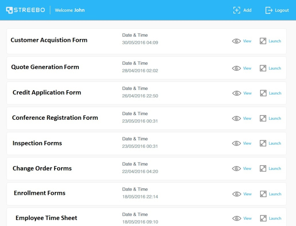 Mobile Forms-screenshot-1
