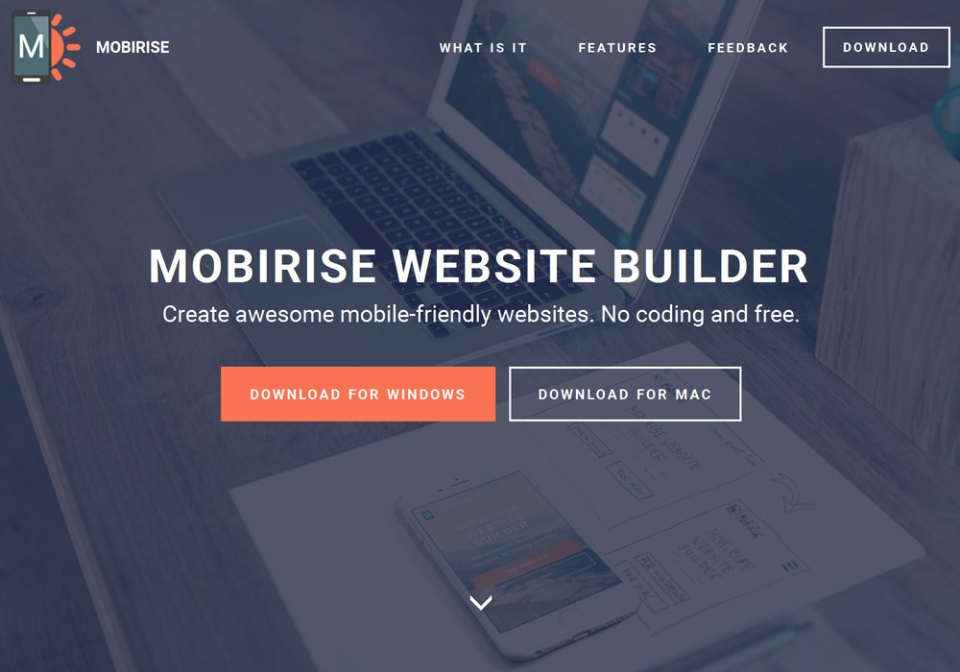 Mobirise Website Builder-screenshot-0