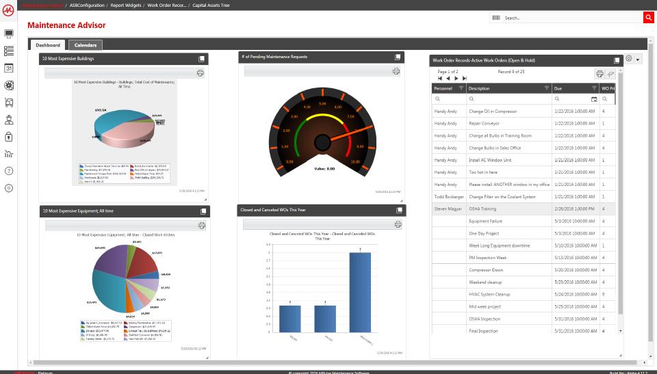 MPulse CMMS Software-screenshot-0
