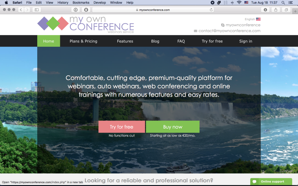 MyOwnConference-screenshot-0