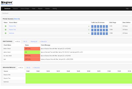 Nagios Network Analzyer-screenshot-1
