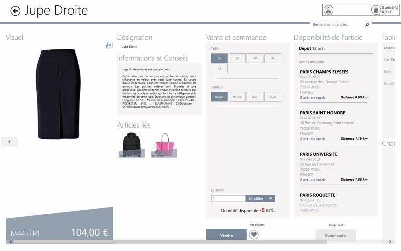 Yourcegid Retail : fiche produit