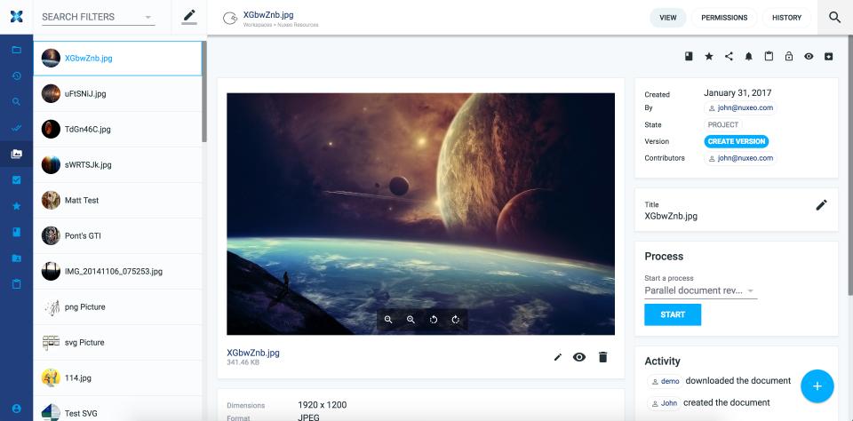 Nuxeo Platform-screenshot-2