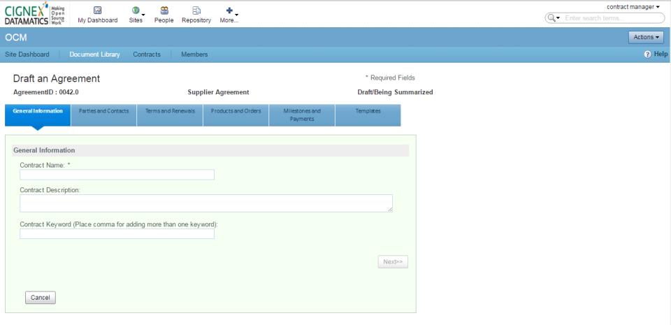 OCM - Contract Management-screenshot-2