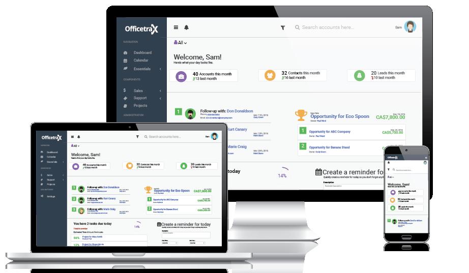 Officetrax CRM-screenshot-2