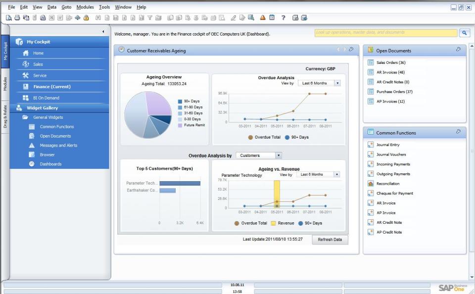 SAP Business One-screenshot-3