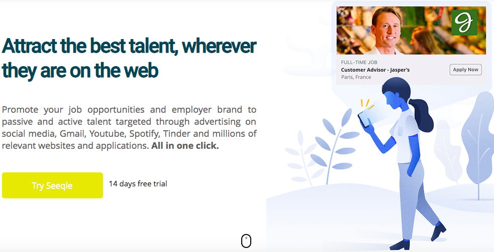 Seeqle-Attract-best-candidate-anywhere