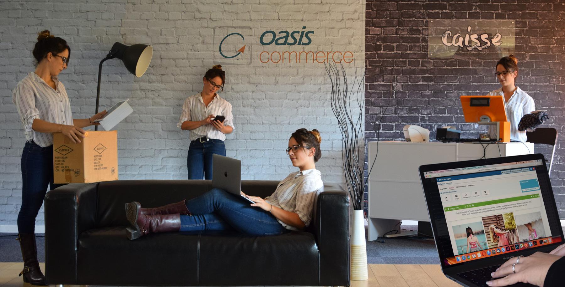 OASIS Commerce : solution de gestion omnicanal, e-commerce, ERP ⇒ Avis, prix