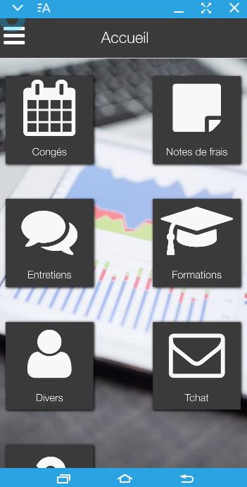 Version smartphone de ServicesRhonline